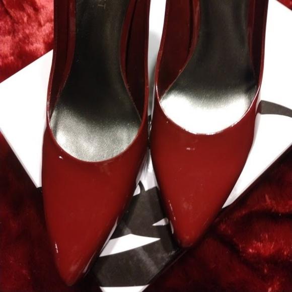 Deep Red Heels